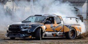 Toyota Tacoma con motor NASCAR