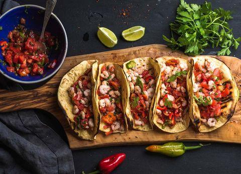 Comida mexicana: Tacos