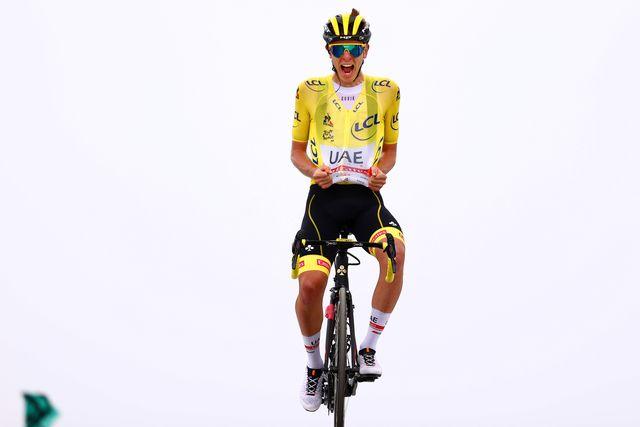 tadej pogacar kom 108th tour de france 2021  stage 17