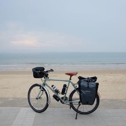 parque nacional taeanhaean, carril bici del mar amarillo de la costa oeste de corea