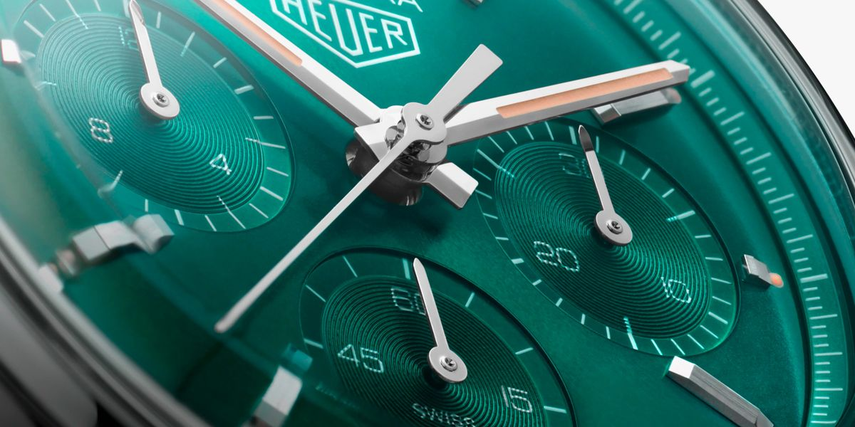 Green Watches Are 'In' Right Now — And This TAG Heuer Is a Spectacular Example