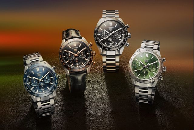 tag heuer chronographs