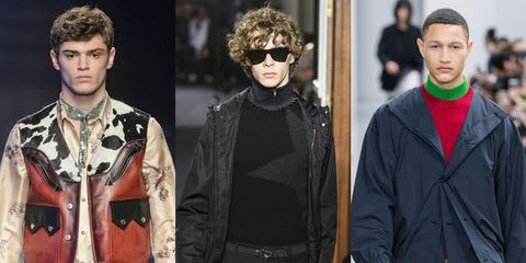 Eyewear, Fashion, Fashion model, Cool, Outerwear, Jacket, Human, Glasses, Sunglasses, Neck,