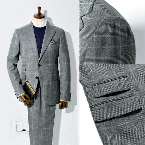 Clothing, Suit, Outerwear, Formal wear, Blazer, Pocket, Button, Jacket, Design, Overcoat,