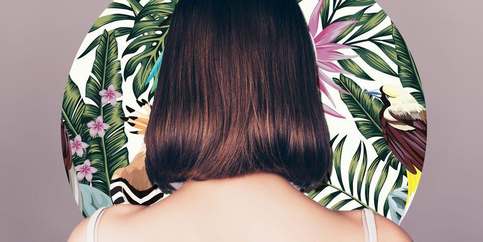 Taglio capelli a punta