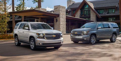 2019 Chevrolet Tahoe and Suburban Premier Plus