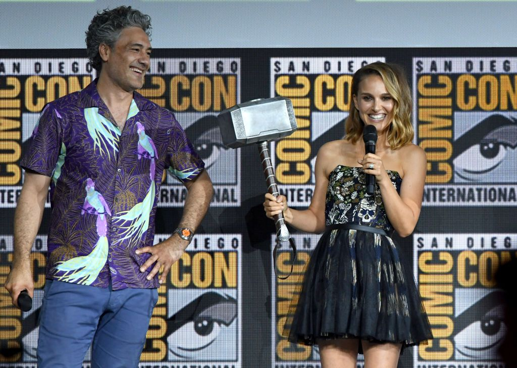 Natalie Portman Announced As The First Female Thor