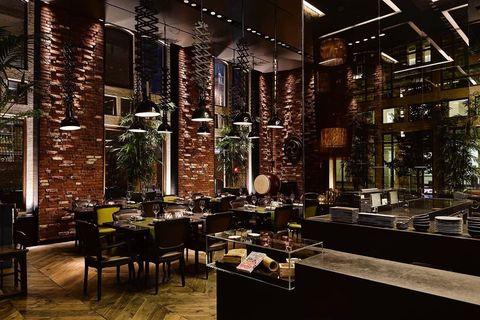 Taiko restaurant in Amsterdam.