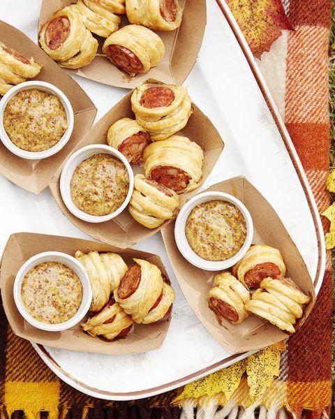 tailgate food sausage puffs