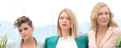 Tre tailleur per tre giurate ---> Cannes 2018 decreta che il must have definitivo di stagione è il completo giacca + pantalone