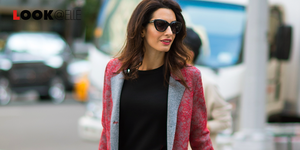 tailleur gonna rossa amal clooney 2019
