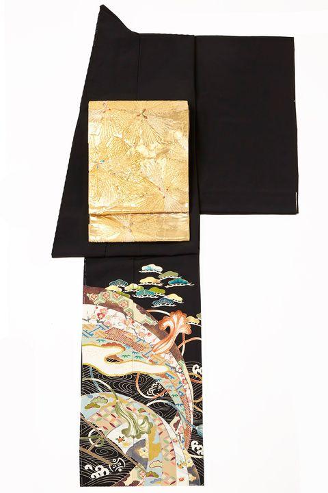 髙島屋 黒留袖×金の帯