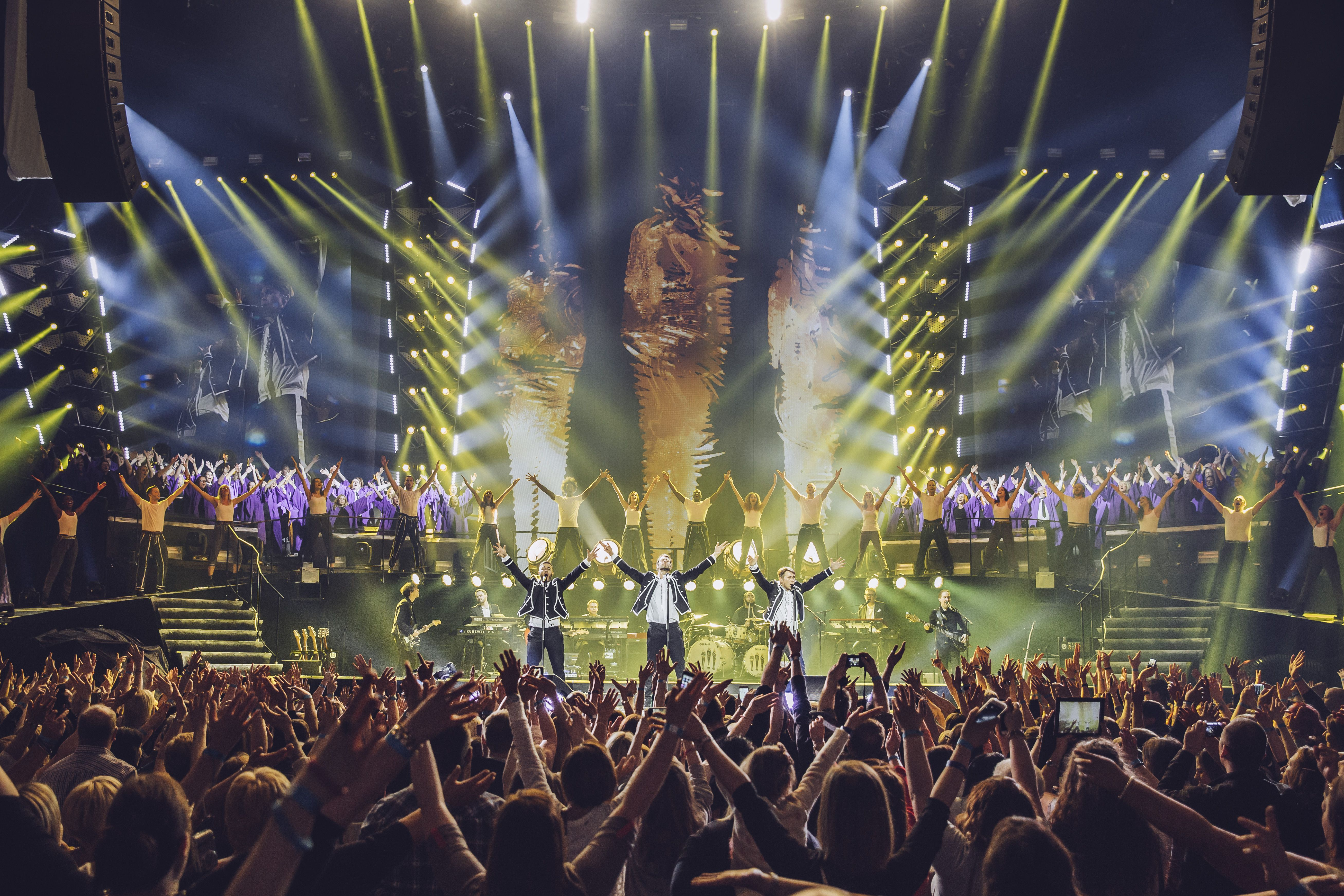 Take That are set to hit the big screen as their Greatest Hits tour will be broadcast live in cinemas