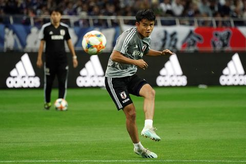 Japan v Mongolia - FIFA World Cup Asian Qualifier 2nd Round久保建英