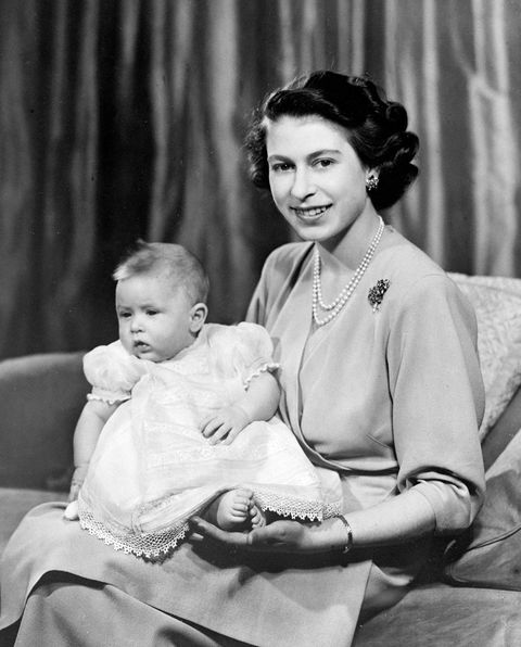 Royalty - The Queen and Prince Charles - Buckingham Palace
