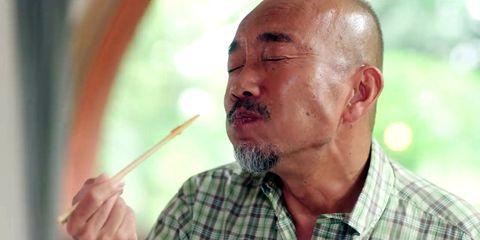 Nose, Facial hair, Chin, Elder, Beard, Wrinkle, Human, Mouth, Moustache, Neck,