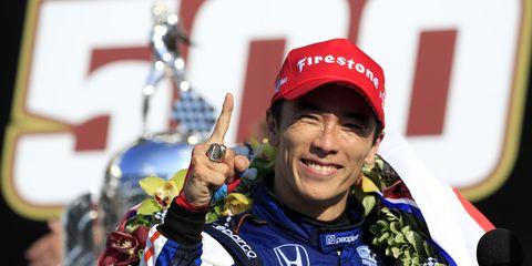 Takuma Sato se lleva las 500 Millas de Indianápolis