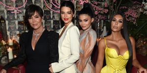 Kardashians verkleedt als elkaar