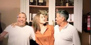 Tamara Falcó y Los Chunguitos en el cumpleaños de Samantha Vallego-Nágera en octubre 2019