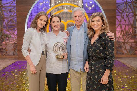 Tamara Falcó, ganadora de 'MasterChef Celebrity' con Isabel Presyler, Mario Vargas Llosa y Xandra Falcó