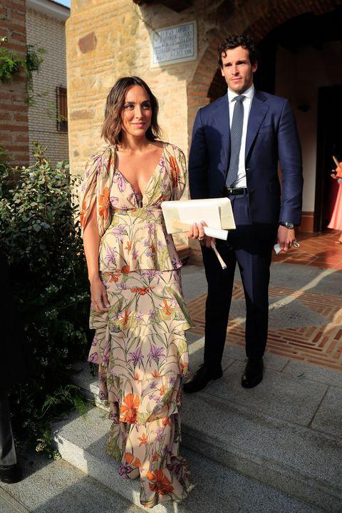 tamara falcó y Íñigo onieva en la boda de felipe cortina y amelia millán