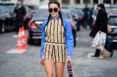 street style    paris fashion week   womenswear fallwinter 20202021  day two