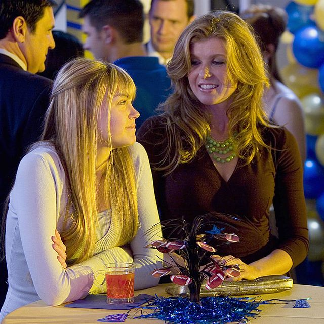 friday night lights   pilot episode 1    air date 10032006    pictured l r aimee teegarden as julie taylor, connie britton as tami taylor  photo by paul drinkwaternbcu photo banknbcuniversal via getty images via getty images