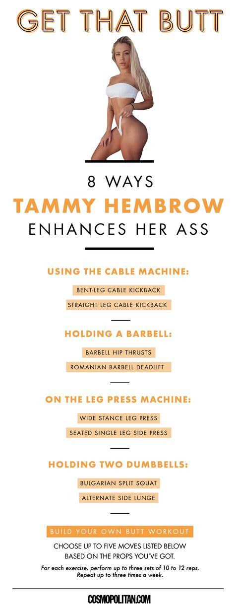 7c4fcfac03 Get That Butt  Tammy Hembrow — How Model Tammy Hembrow Got an ...