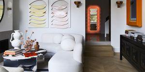Casa moderna y de diseño con obras de arte en sydney australia por tamsin Johnson
