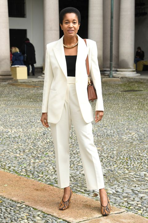 boss   arrivals  front row   milan fashion week springsummer 2021
