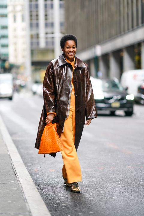 Street Style - Day 2 - New York Fashion Week February 2020