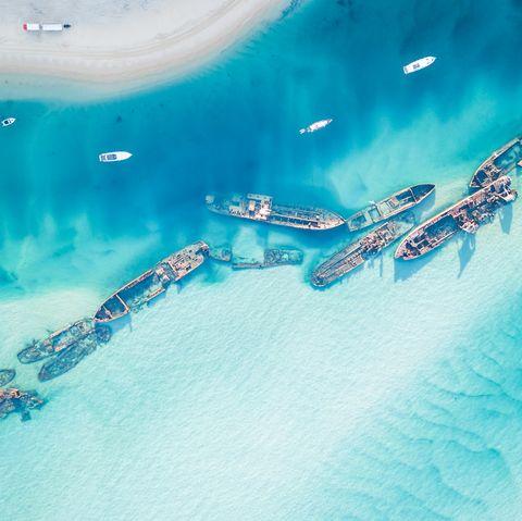 underwater shipwrecks tangalooma