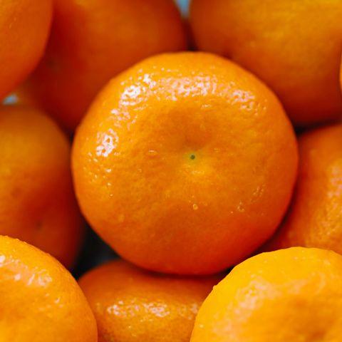 Tangerines close-up
