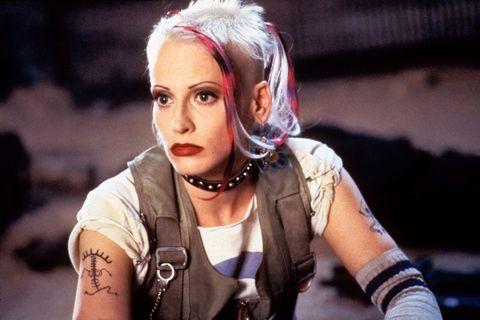 Lori Petty en la pelicula Tank Girl