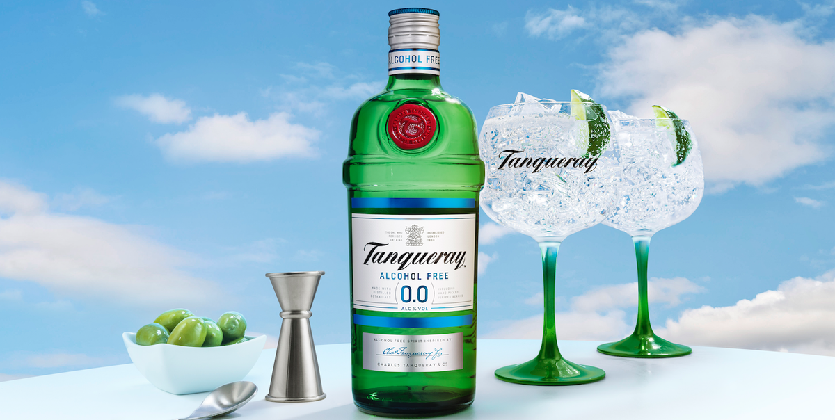 Tanqueray launches 0.0% alcohol version of its iconic gin