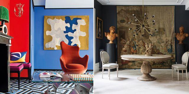 ideas para decorar las paredes con tapices