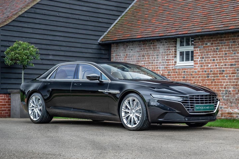 There S An Almost New Aston Martin Lagonda Taraf For Sale