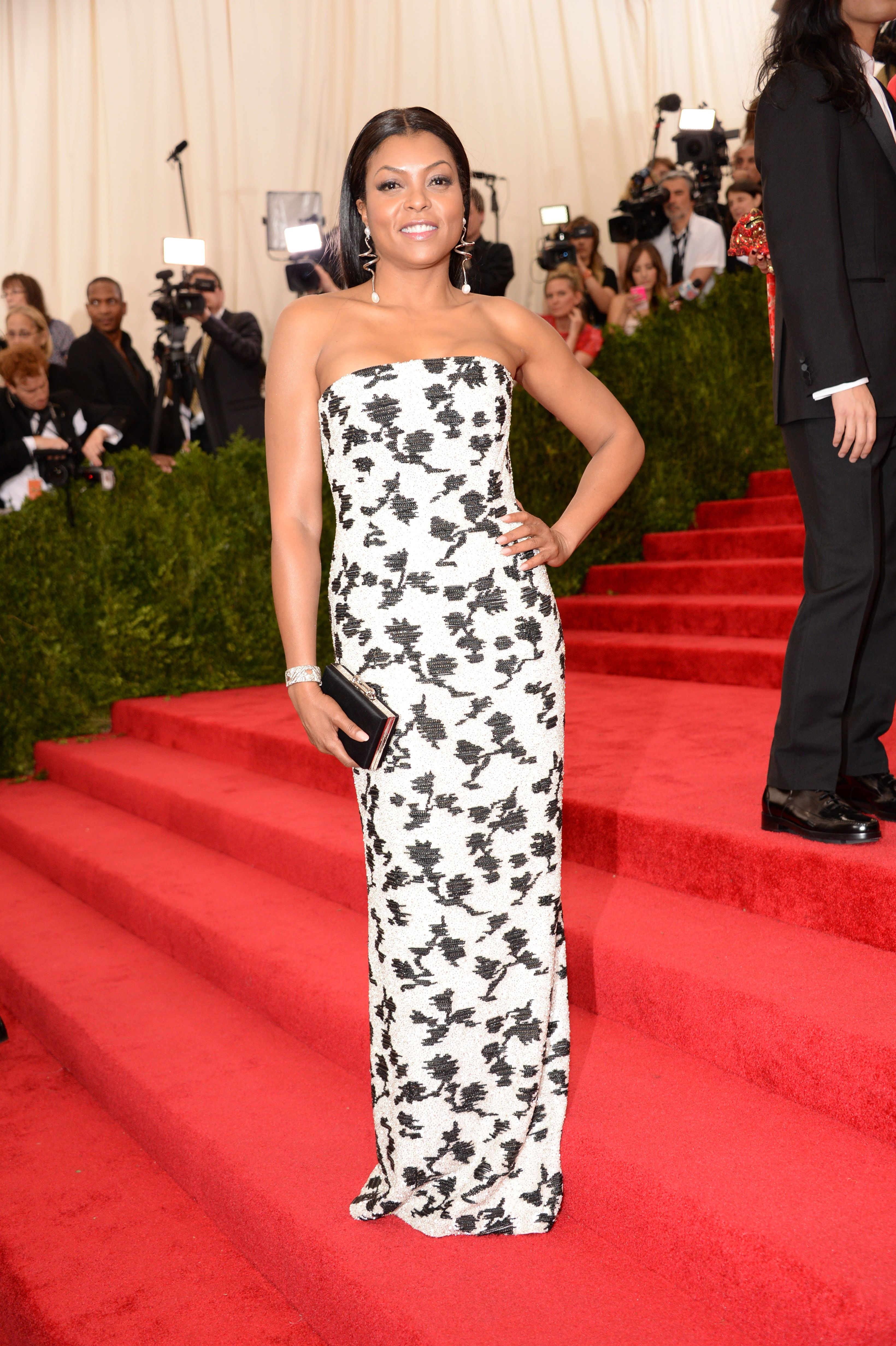 """Taraji P. Henson According to The New York Post , Taraji P. Henson had to back out last minute to attend the funeral of """"Boyz n the Hood"""" director John Singleton. She was reportedly set to wear a design by Vera Wang."""