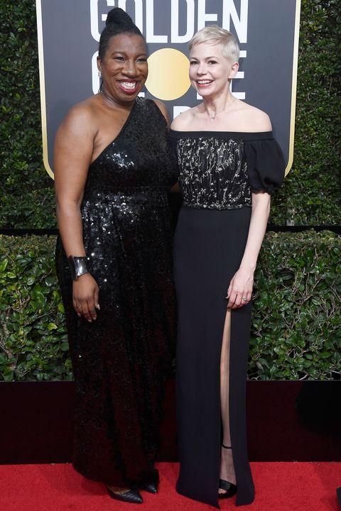 Tarana Burke with Michelle Williams