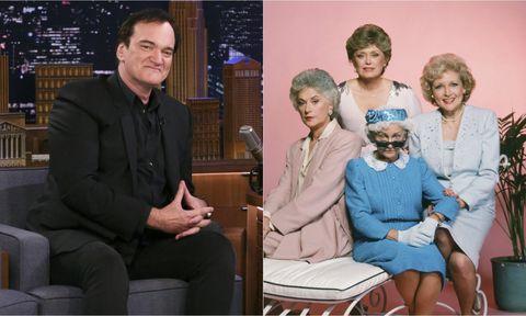 Tarantino / las chicas de oro