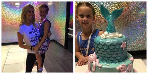 tarek christina el moussa daughter birthday cake