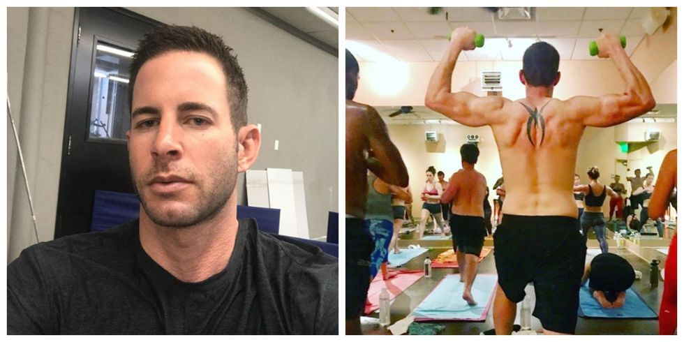 tarek el moussa hot yoga