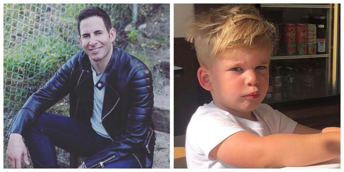 Tarek El Moussa And Son Brayden Look So Much Alike Tarek