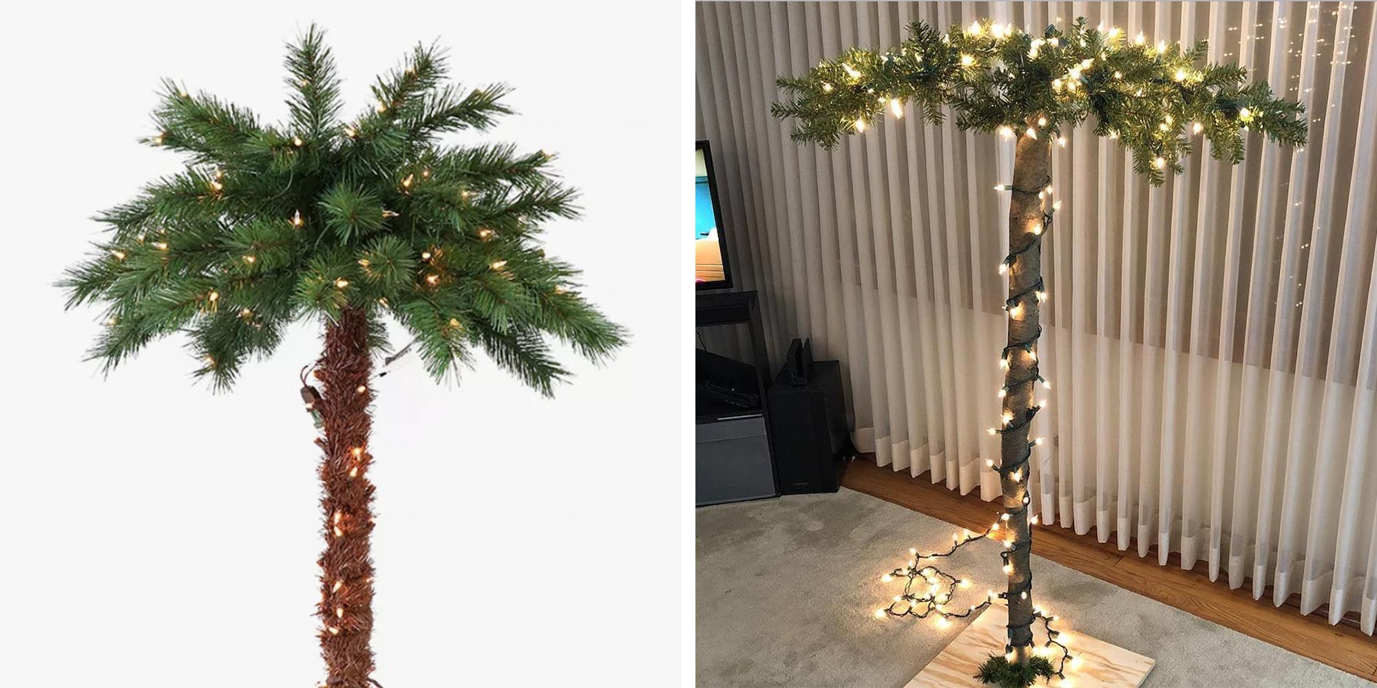 Target Is Selling a 6-Foot Christmas Palm Tree for People Who Can't Give Up on Summer