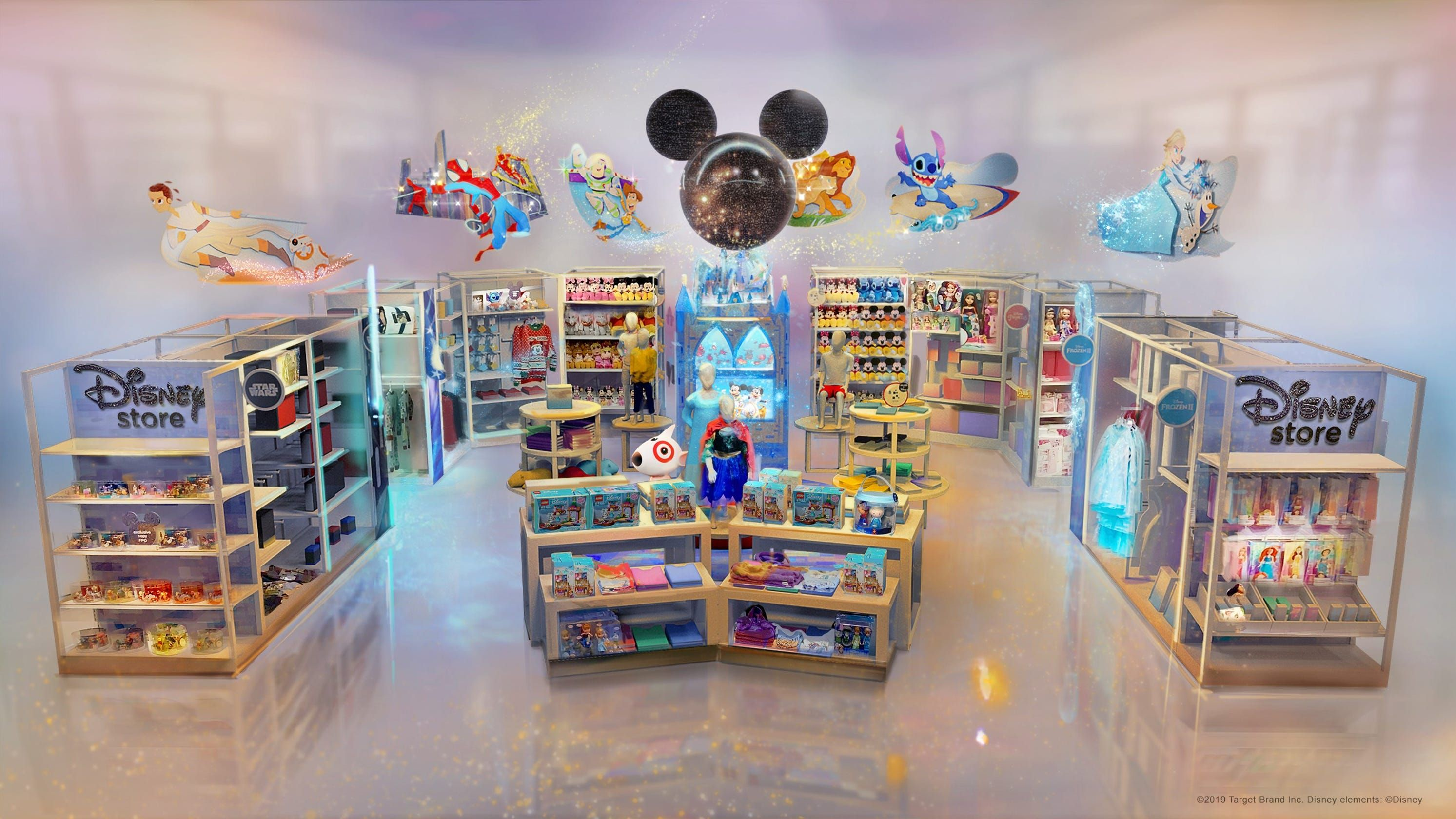 Disney Stores Are Setting up Shop Inside 25 Target Locations, and We Want to Live in Them