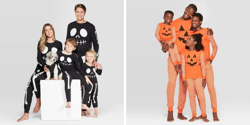 Your Whole Fam — Pup Included — Can Match on Halloween Thanks to Target's Matching PJs