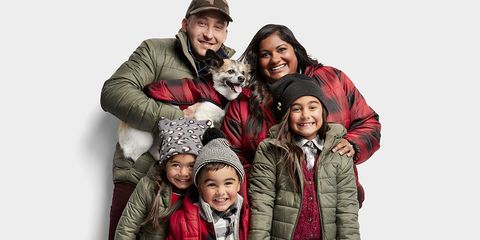 People, Family taking photos together, Fun, Photography, Outerwear, Family, Jacket, Child, Family pictures, Fur,