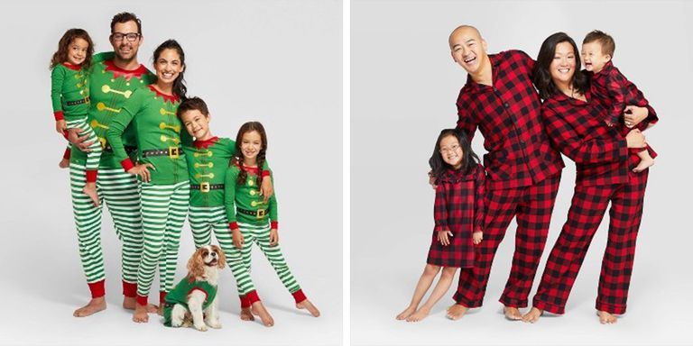 Target Is Selling Matching Holiday Pajamas for the Whole Family — Including Your Dog