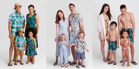 target s matching family outfits are perfect for summer vacations