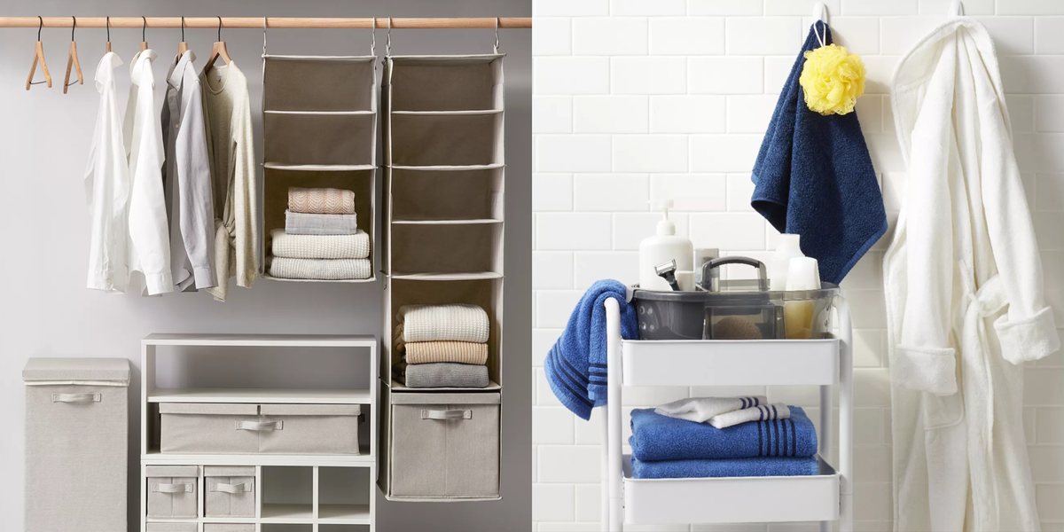 10 Best Organizers and Storage Products at Target - Made By Design Organizers for Closet, Kitchen, Bathroom